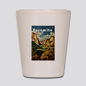 Vintage Yosemite Travel Shot Glass