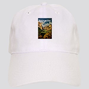 Vintage Yosemite Travel Baseball Cap