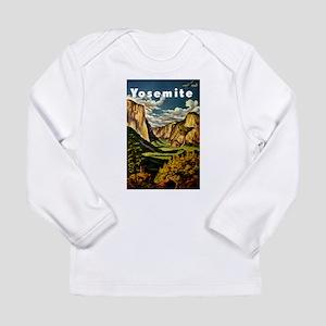 Vintage Yosemite Travel Long Sleeve T-Shirt