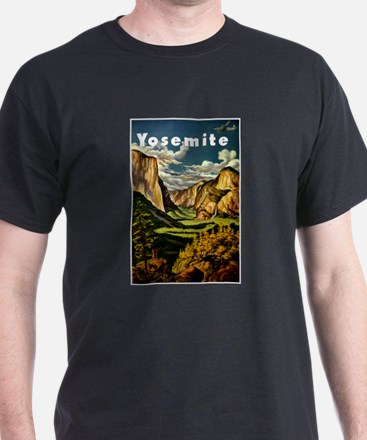Vintage Yosemite Travel T-Shirt