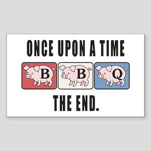 BBQ Fairy Tale Sticker