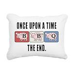 BBQ Fairy Tale Rectangular Canvas Pillow