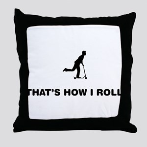 Scooter Throw Pillow