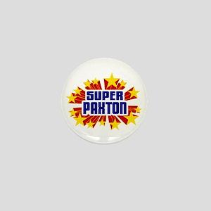 Paxton the Super Hero Mini Button