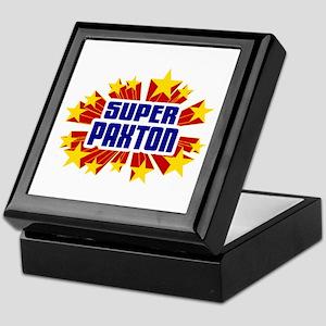 Paxton the Super Hero Keepsake Box