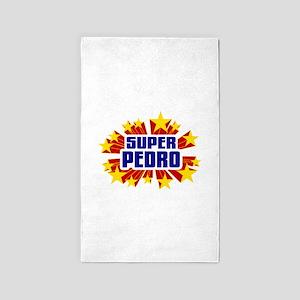 Pedro the Super Hero 3'x5' Area Rug