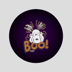 Peanuts Halloween Button