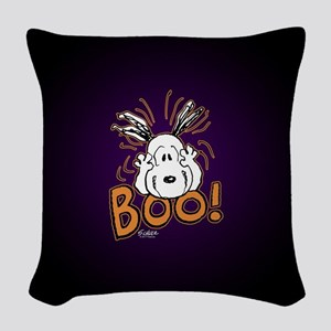 Peanuts Halloween Woven Throw Pillow