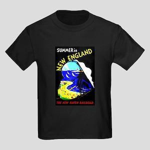 New England Train Travel T-Shirt