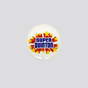 Quinton the Super Hero Mini Button