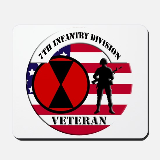 7th Infantry Division Mousepad