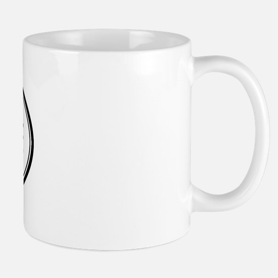 Stephanie Oval Design Mug