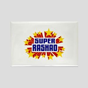 Rashad the Super Hero Rectangle Magnet