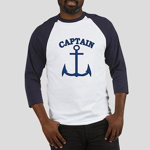 Captain Anchor Blue Baseball Jersey