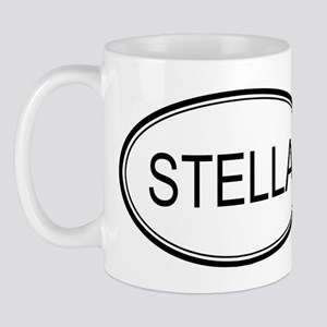 Stella Oval Design Mug