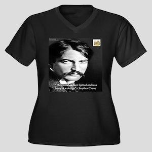 Stephen Crane Plus Size T-Shirt