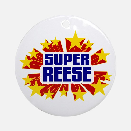 Reese the Super Hero Ornament (Round)