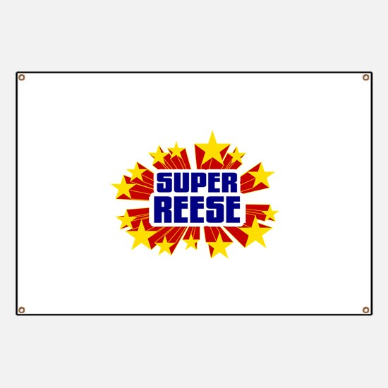 Reese the Super Hero Banner