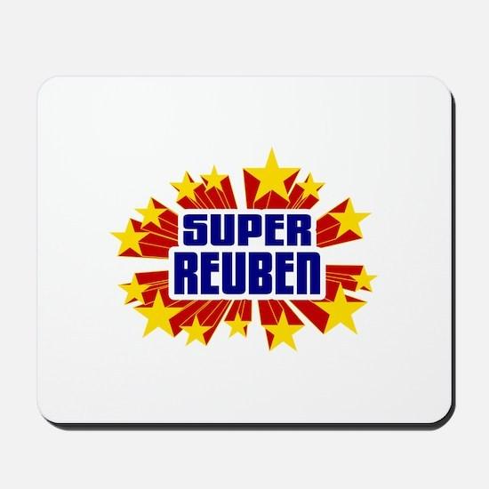 Reuben the Super Hero Mousepad