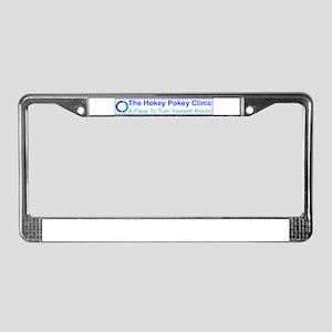 Hokey Pokey Clinic License Plate Frame