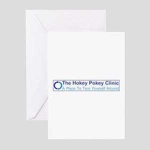Hokey Pokey Clinic Greeting Cards (Pk of 20)