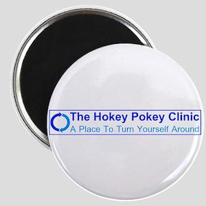 "Hokey Pokey Clinic 2.25"" Magnet (10 pack)"