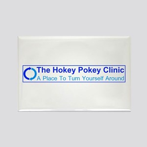 Hokey Pokey Clinic Rectangle Magnet