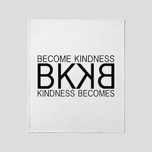 BKKB Logo Throw Blanket