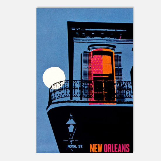 Vintage New Orleans Travel Postcards (Package of 8