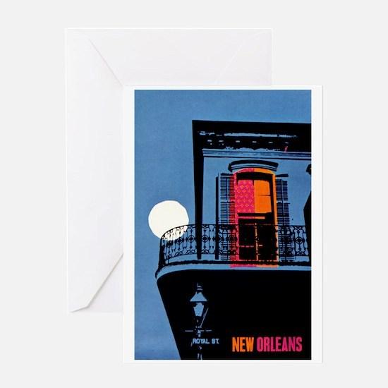 Vintage New Orleans Travel Greeting Card