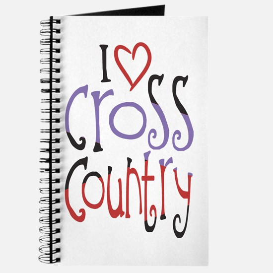I love (heart) cross country Journal