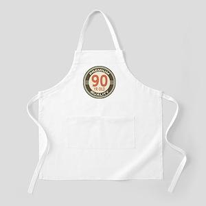90th Birthday Vintage Apron