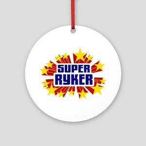 Ryker the Super Hero Ornament (Round)