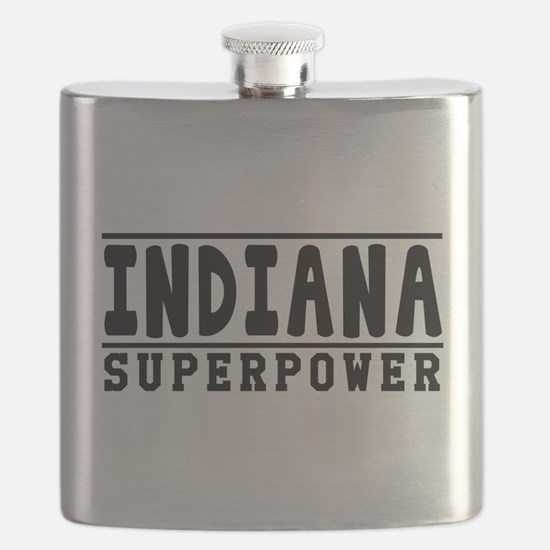 Indiana Superpower Designs Flask