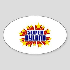 Ryland the Super Hero Sticker