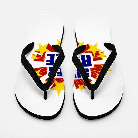Rylee the Super Hero Flip Flops