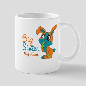 Personalized Rabbit Big Sister Mug