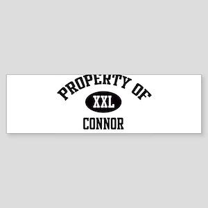 Property of Connor Bumper Sticker