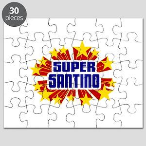 Santino the Super Hero Puzzle