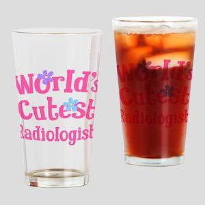Worlds Cutest Radiologist Drinking Glass