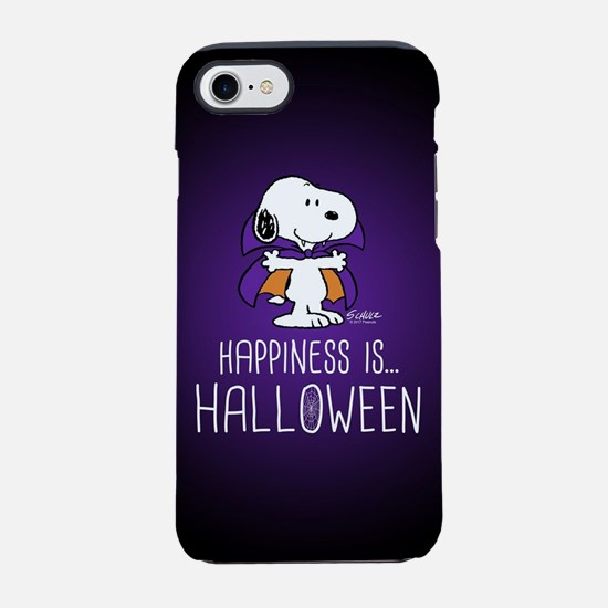 Peanuts Happiness is Halloween iPhone 7 Tough Case