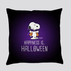 Peanuts Happiness is Halloween Everyday Pillow