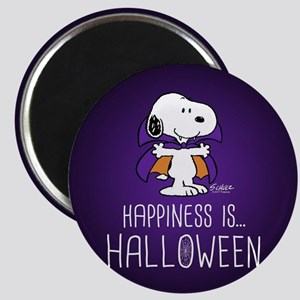 Peanuts Happiness is Halloween Magnet