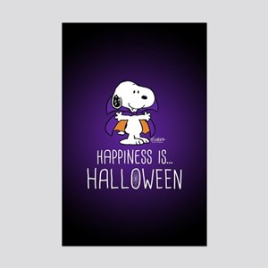 Peanuts Happiness is Halloween Mini Poster Print