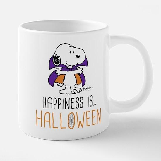 Peanuts Happiness is Hallow 20 oz Ceramic Mega Mug
