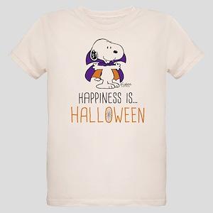 Peanuts Happiness is Hallowee Organic Kids T-Shirt