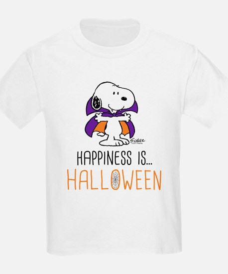 Peanuts Happiness is Halloween T-Shirt