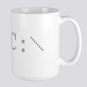 Classic MS-DOS C Drive Prompt - Pixelated Mug
