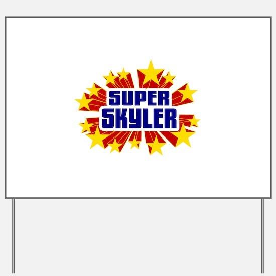 Skyler the Super Hero Yard Sign