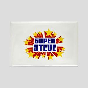 Steve the Super Hero Rectangle Magnet